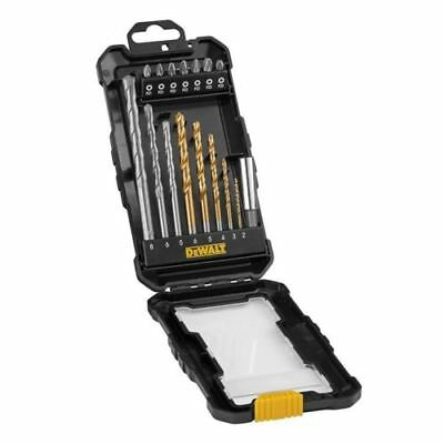 DEWALT DT71567 16 Pc. Masonry, HSS Drill & Screwdriver Bit Set RRP £15.95