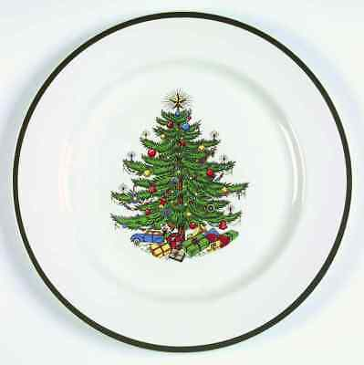 Cuthbertson CHRISTMAS TREE (WIDE GREEN BAND) Chop Plate S4200170G2