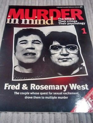 Murder in Mind magazine Issue 1 Fred and Rosemary West.