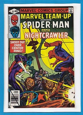 Marvel Team-Up #89_January 1980_Vf+_Spider-Man_Nightcrawler_X-Men_Bronze Age!