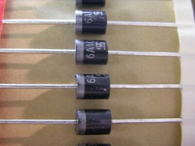 10 Taiwan Semiconductor 6A100 1000V 6A Silicon Rectifier Diodes