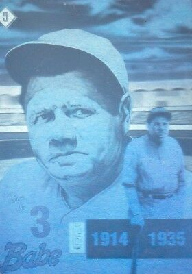 Gold Entertainment 1992 The Babe Ruth Holograms Series #5