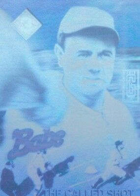 Gold Entertainment 1992 The Babe Ruth Holograms Series #3