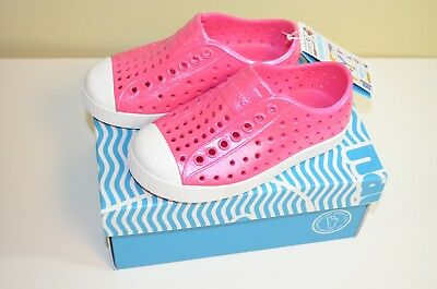 FREE Shipping - Native Kid's Shoes Slip On Sneaker Jefferson in Hollywood Pink