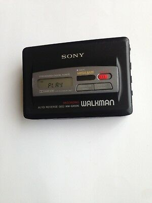 Sony Walkman Digital Radio Recording Cassette Player Wm-Gx506  * Collectable*