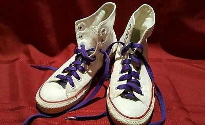52c31f8e8a58 Converse Chuck Taylor All-Star White High Tops Basketball Sneakers US Men s  7