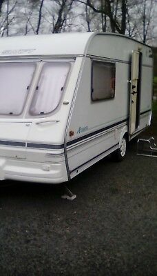 Caravan 2 birth - all equipment . Must go ** No Reserve ** Bradcot awning