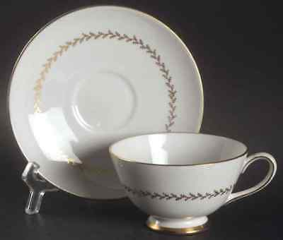 Tuscan Royal Tuscan GOLDEN FERN Cup & Saucer S730052G3