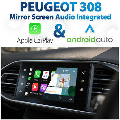 PEUGEOT 208 FACTORY Audio Integrated Apple CarPlay & Android