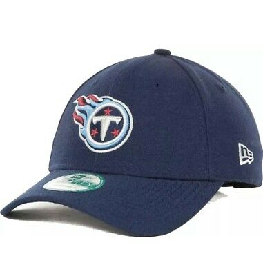 sale retailer 7a048 cbb6f Tennessee Titans Hat New Era 9FORTY NFL Football Adjustable Flex Fit Cap