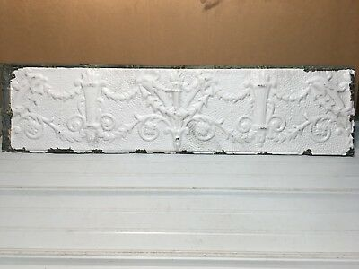 "1pc 24"" x 48"" Full Piece Antique Ceiling Tin Vintage Reclaimed Salvage Art Craft"