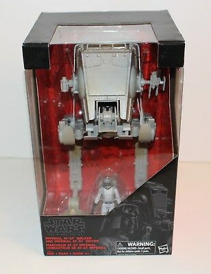STAR WARS The Black Series - Imperial AT-ST Walker & Driver (brand new sealed)
