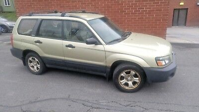 2003 Subaru Forester X working 2003 Subaru Forester 2.5X 131,000 miles new battery as is original owner