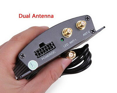 HD Car TV Tuner ISDB-T Digital TV Receiver Box With Dual antennas