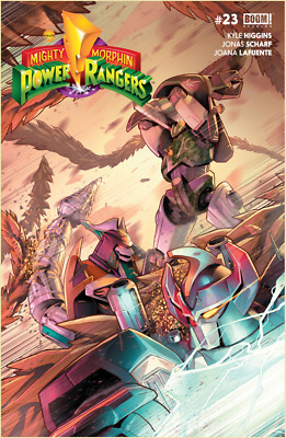 MIGHTY MORPHIN POWER RANGERS #23 (BOOM! Studios) 1st Printing, VF Shattered Grid