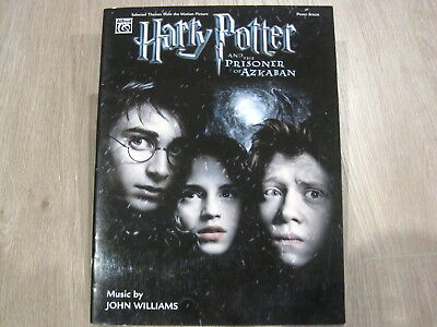 Harry Potter and Prizoner of Azkaban Sheet Music Song Book Songbook Piano Solos