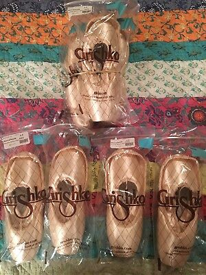 Multiple Pairs of Brand New Grishko Nova Pointe Shoes  6 1/2 XXX Medium Shank