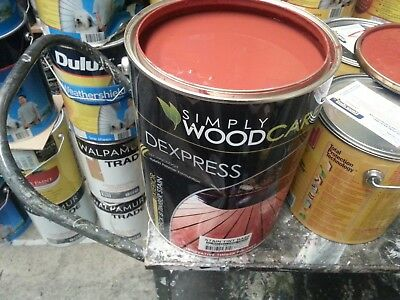 Simplywood 10 Litre Decking&timber Stain Indian-Redish Color Paint