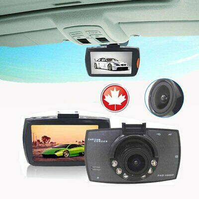 HD LCD Car DVR Dash Camera Night Vision Cam Video Driving Recorder CANADA