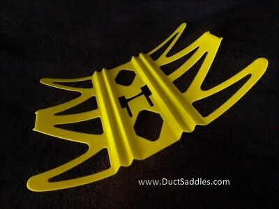 Duct Saddle Hangers Use With Any Type of HVAC Strapping   Package of: 10