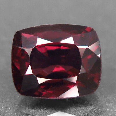 2.8ct.Shimmering Gem! 100%Natural Purplish Red Spinel Unheated Gem AA Nr!