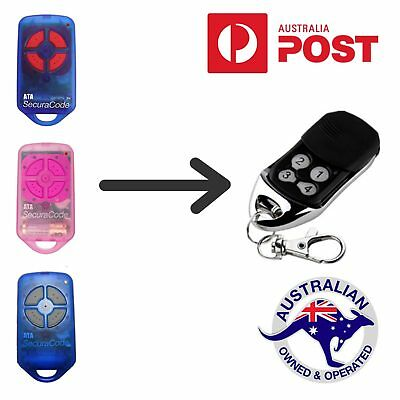 Replacement Garage Remote for ATA PTX4 PTX-4 Securacode