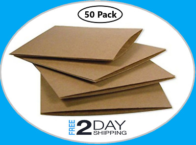 Disc Storage Wallets 50 Pack CD DVD Sleeves Envelope Eco Cardboard Case