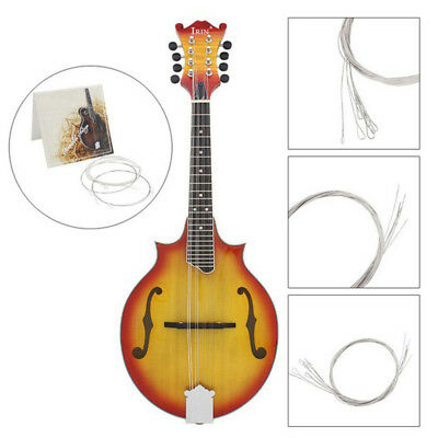 1 Set Silver Plated For Mandolin Strings String Instrument Accessory E/A/D/G