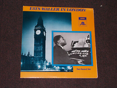 Doppel - LP Fats Waller in London 1984 DRG Records (disques swing) SW 8442/3