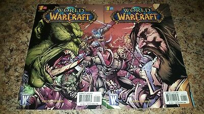 World of Warcraft Special #1 (Feb 2010, DC)Horde Alliance.. 2 Issues..VF+/NM