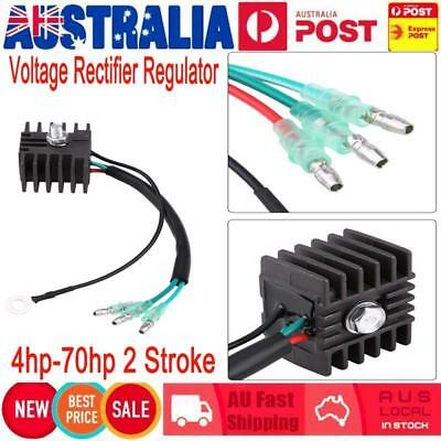 Voltage Rectifier Regulator for 4hp-70hp 2 Stroke Outboard for Yamaha Mariner