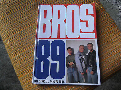 Vintage Bros Official Annual/Book 1989