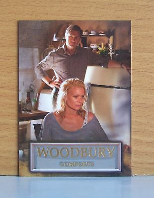 The Walking Dead season 3 part 2 Woodbury WB-08 Comforts insert card