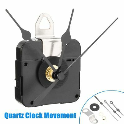 Quartz Clock Movement Mechanism Black Hands Radio Controlled Ticking
