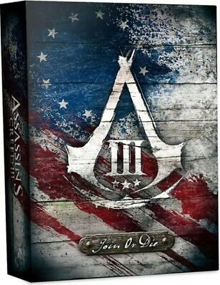 Wii U ASSASSINS CREED III 3 Join Or Die Edition PAL AUS - Brand New