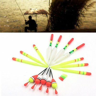 Lots 15pc Fishing Lure Floats Bobbers Slip Drift Tube Indicator Assorted Sizes