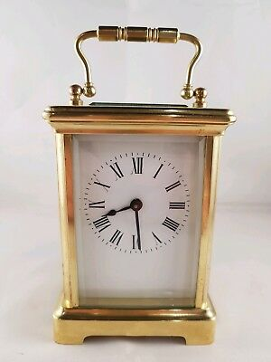 Superb Antique French Carriage Clock Has Just Been Fully Overhauled May 2018.