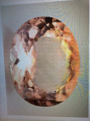 GIL Certified 5.31 caret AAA Morganite loose gemstone