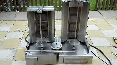 Doner Kebab Machine x2 Gas Grill Catering
