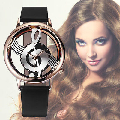 Luxury Women's Faux Leather Wrist Watch Ladies Analog Quartz Wrist Watches Gifts