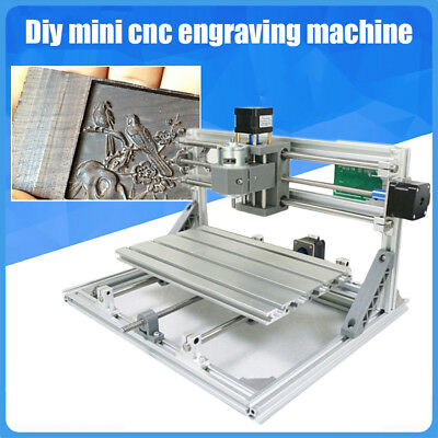 Mini 3 Axis CNC 3018 Wood Engraving Carving PCB Milling Machine Router Engraver