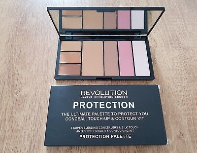 100% Original  MAKEUP REVOLUTION Palette  touch-up & Contour mit