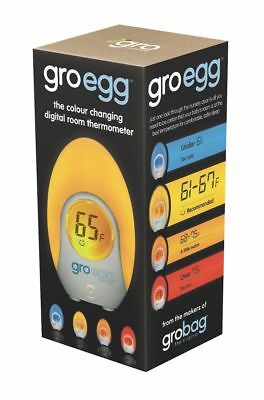 The Gro Company Gro-Egg Room Thermometer, White , New, Free Shipping