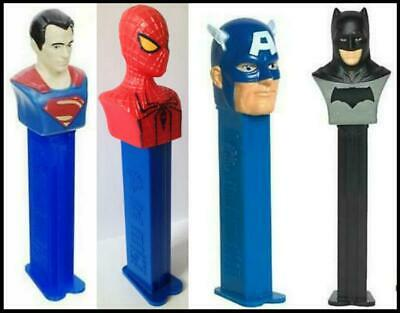 Pez ~ Batman ~ Justice League ~ New ~ Loose With Candy