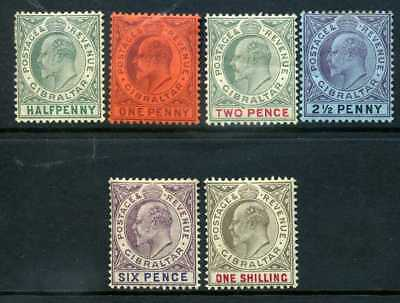 Gibraltar 1903 CA crown MH selection top row a few gum bends, others fine