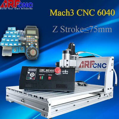 2200W 4Axis CNC 6040 Desktop Router  Engraving Drilling Engraver Milling Machine