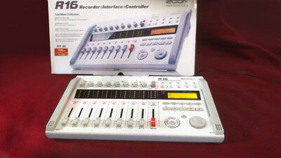 ZOOM R16 Multitrack- Recorder-Interface-Controller