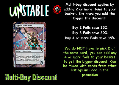MTG Unstable UST Choose your common / uncommon Foil - New - Buy 2 save 25%