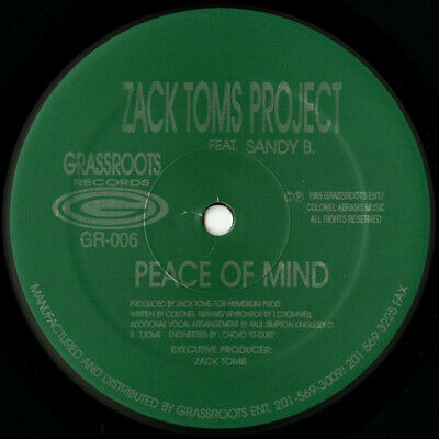 Zack Toms Project / Peace Of Mind