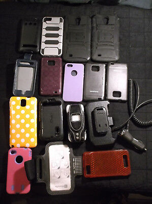 Lot of 16 Cell Phone Cases